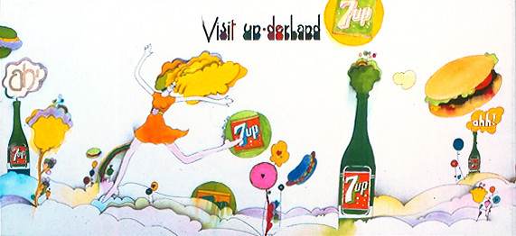 7Up_Visit-un-derland_vintage UnCola billboard by Kim Whitesides