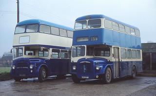 Norfolk independants double deckers (c) David Bell