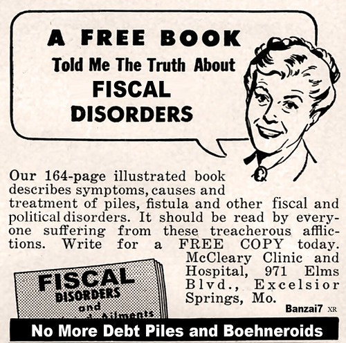 FISCAL DISORDERS by Colonel Flick/WilliamBanzai7