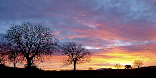 Sunrise over Skiddaw (vi)