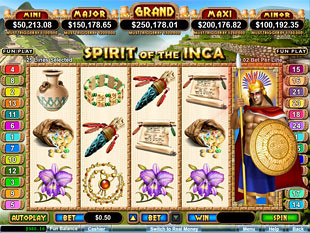 Spirit of the Inca Slot Machine