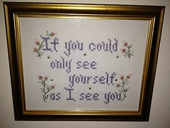 art, calligraphy, needlework, picture frame, embroidery, cross-stitch,