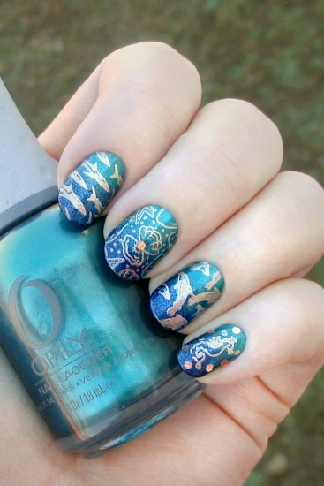 Gradient Sea Stamping (Cheeky)