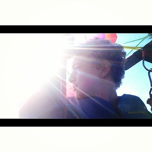 him. #zeb #parasailing #keylargo