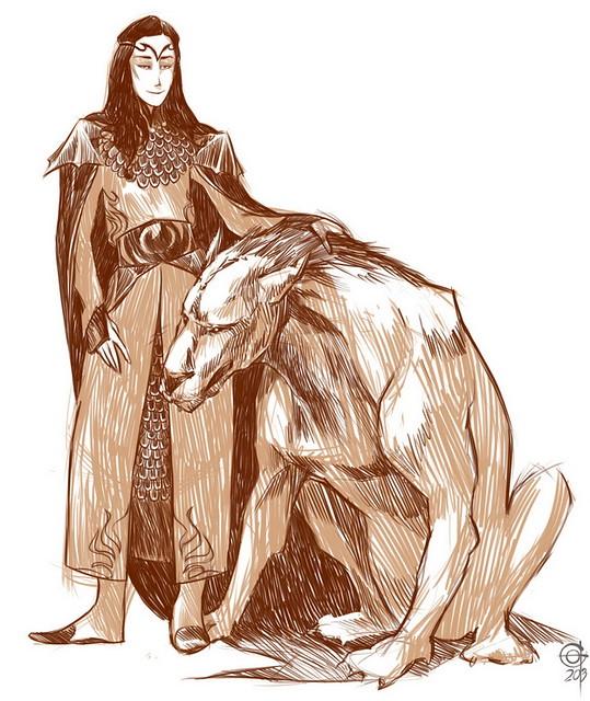 Sauron and varg