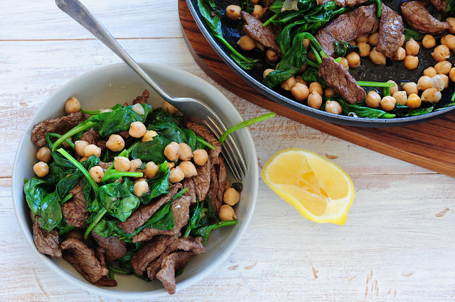 spiced beef with chickpeas-2