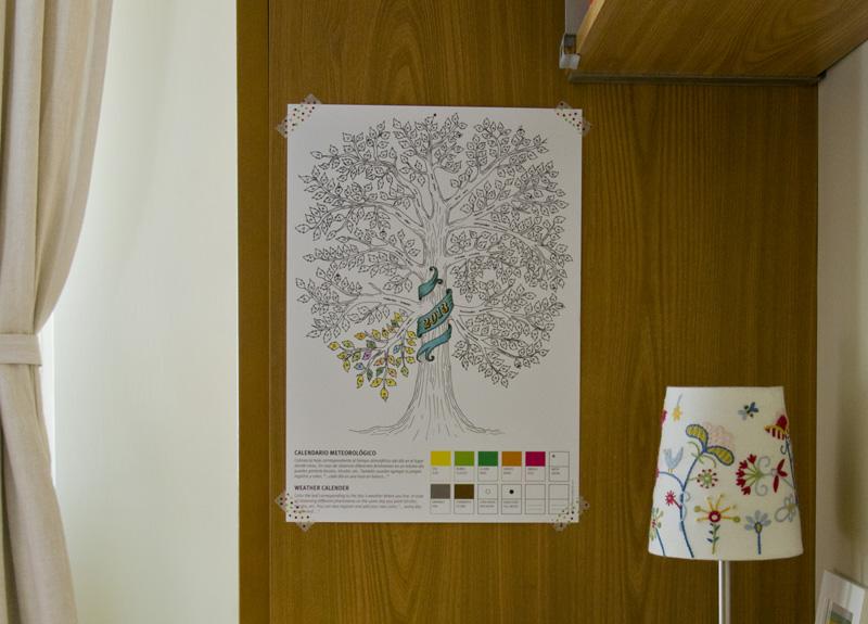 árbol calendario
