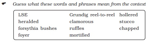 NCERT Class XI English: Chapter 6 – The Third and Final Continent