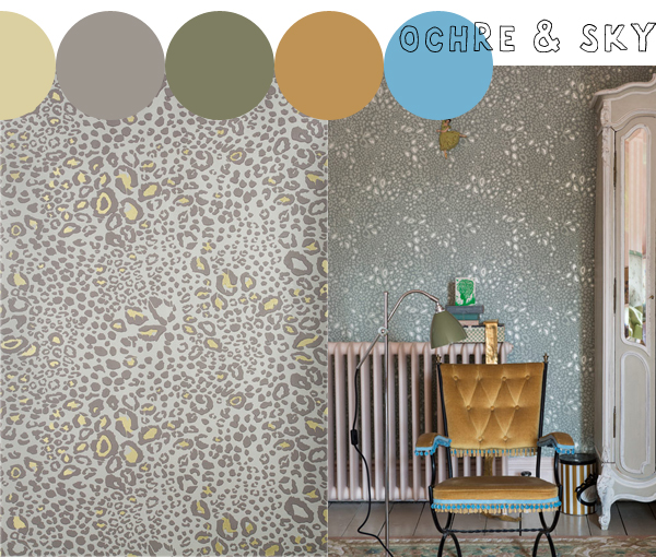 Latest and Greatest, Ocelot wallpaper from Farrow & Ball | Emma Lamb