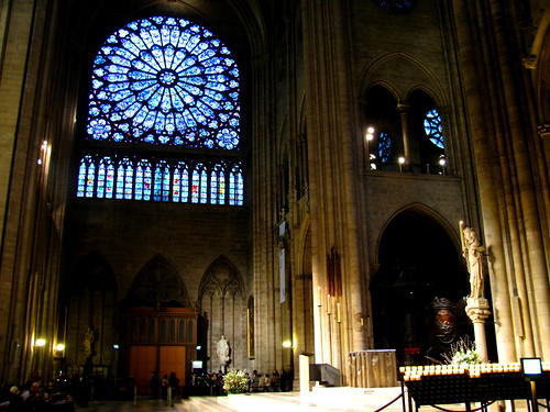 Interior de Notre-Dame