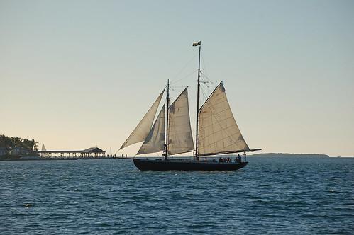 """Florida, Key West, Gulf of Mexico, (Schooner), """"Hindu"""""""