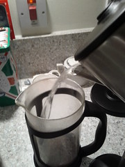 Coffee in a French Press 8