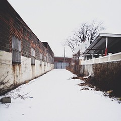 #industrial snowscape