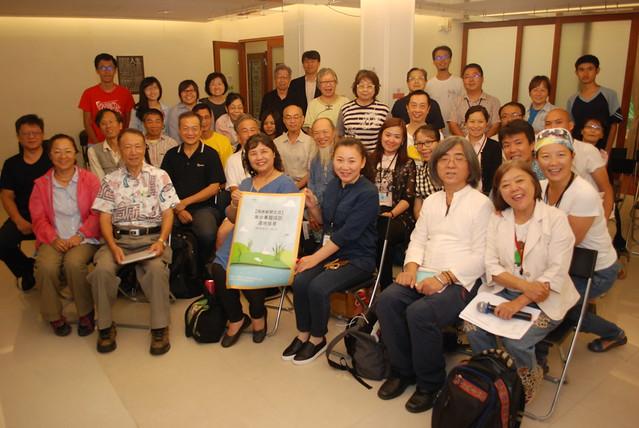 台灣環境資訊協會主辦的「咱的坔咱的家——兩岸濕地保育之媒體觀察」9月10日在台北社企聚落展開。