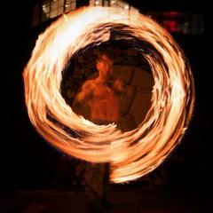 The Circle of Bow #firespinning #maliburns2016 #dangerous #fun #malibu #losangeles #california