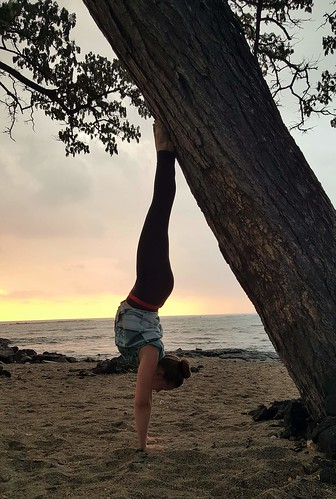 Adho Mukha Vrksasana (Downward Facing Tree, aka Handstand)