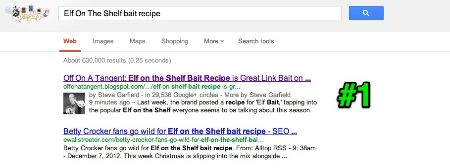 elf on the shelf bait recipe - Google Search results #1
