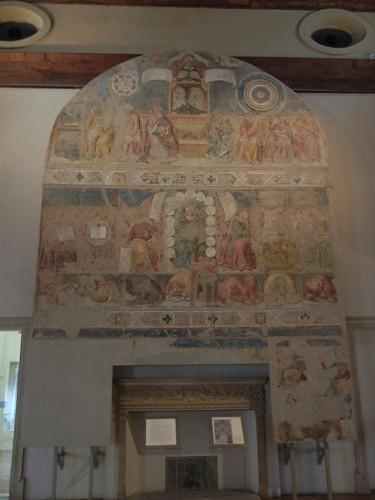 DSCN3880 _ Allegoria di Sant'Agostino come Maestro dell'Ordine (fascimile del disegno a tempera su carta), Girolamo Domenichini