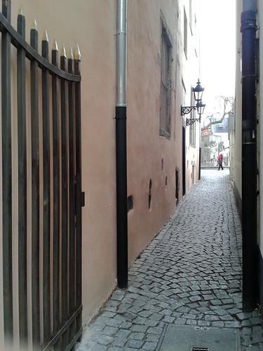 Alley by Unter-Käster Street