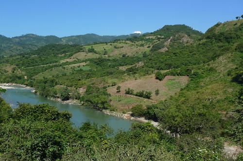 The road to Gracias, Honduras