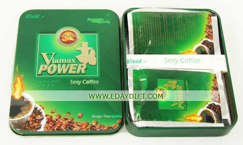 Viamax Power Sexy Coffee Only For Male