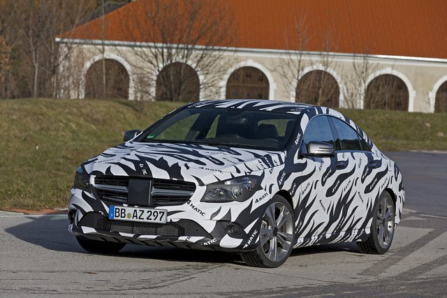 Prototipo Mercedes-Benz CLA 4MATIC