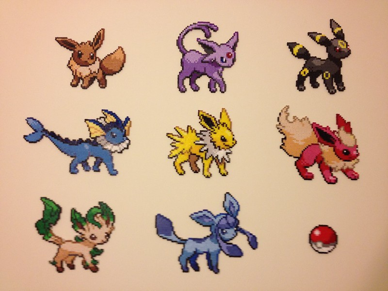All the Eevees!