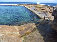 Steps to Mahon Pool, Maroubra