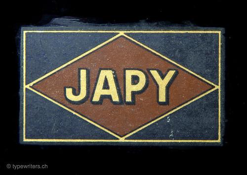 Japy 3 typewriter