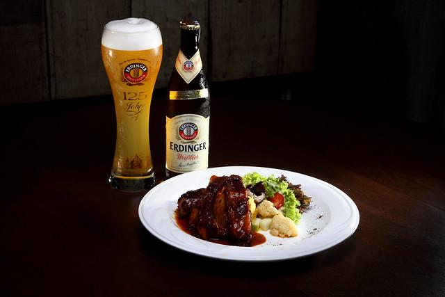 Pork Rib + Erdinger Weissbier