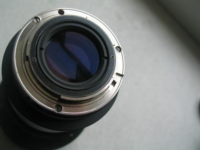 LOMO Anamorphic F = 75/2 type 35BAS23-2 after conversion on Nikon mount