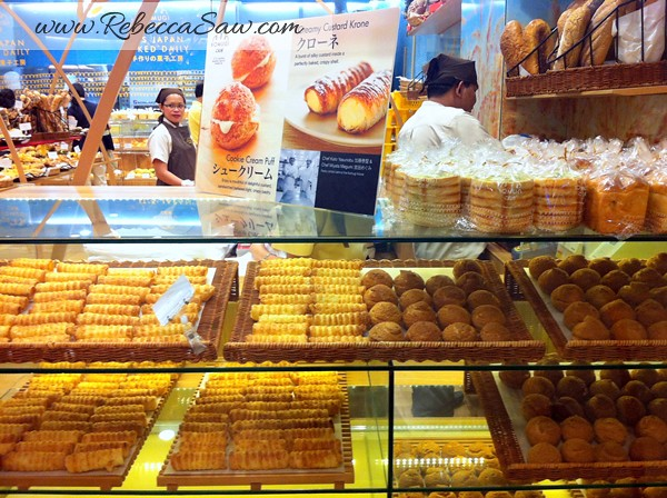 Kumogi Bakery Mid Valley Megamall Rebecca Saw
