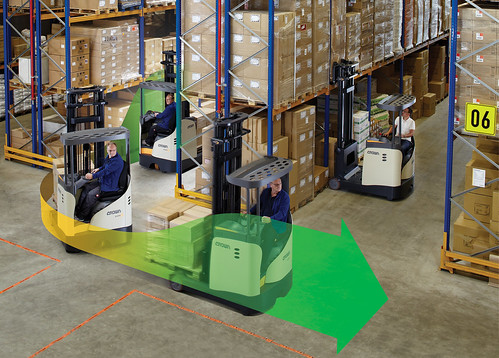 ESR 5200 Reach Truck with Optimised Cornering Speed