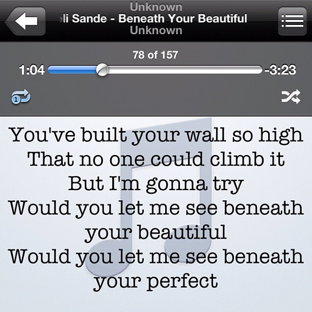 Labrinth - Beneath Your Beautiful Lyrics | MetroLyrics