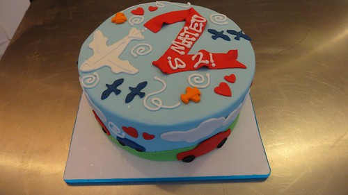 Cars & Plane transportation Cake by CAKE Amsterdam - Cakes by ZOBOT