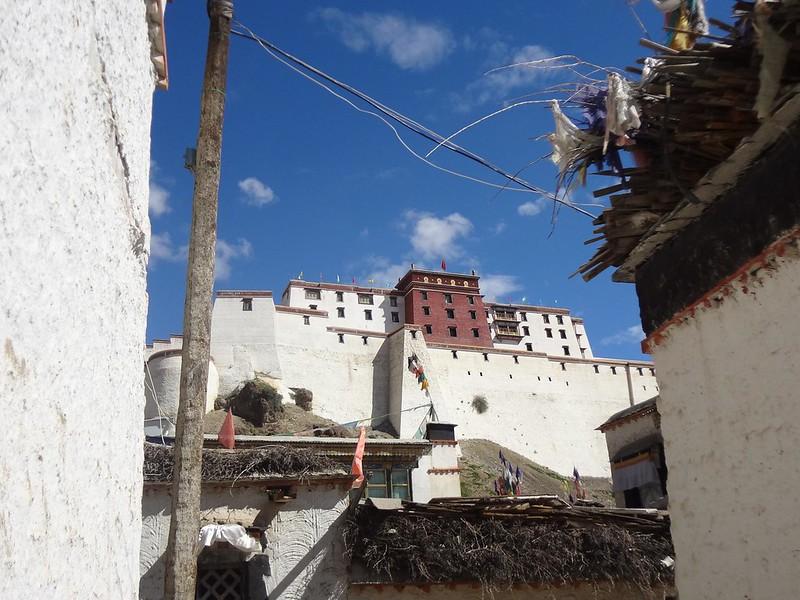 Fortaleza de Shigatse Tibete