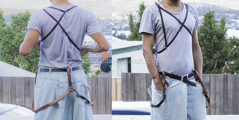 blog #06 details  vintage leather suspender 22nd DEC 2012副本