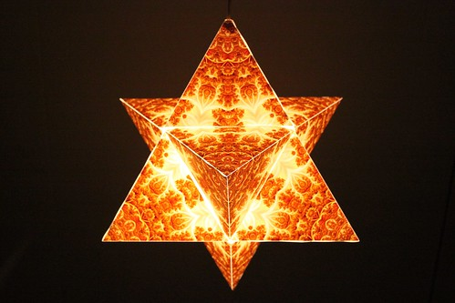 Star Tetrahedron: Golden Kingdom (quality:pro)