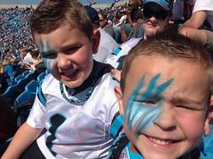 2012 Carolina Panthers vs Dallas Cowboys - Harrison (8) and Jackson (6)