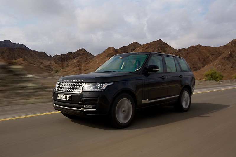 2013 Range Rover Vogue Supercharged Side