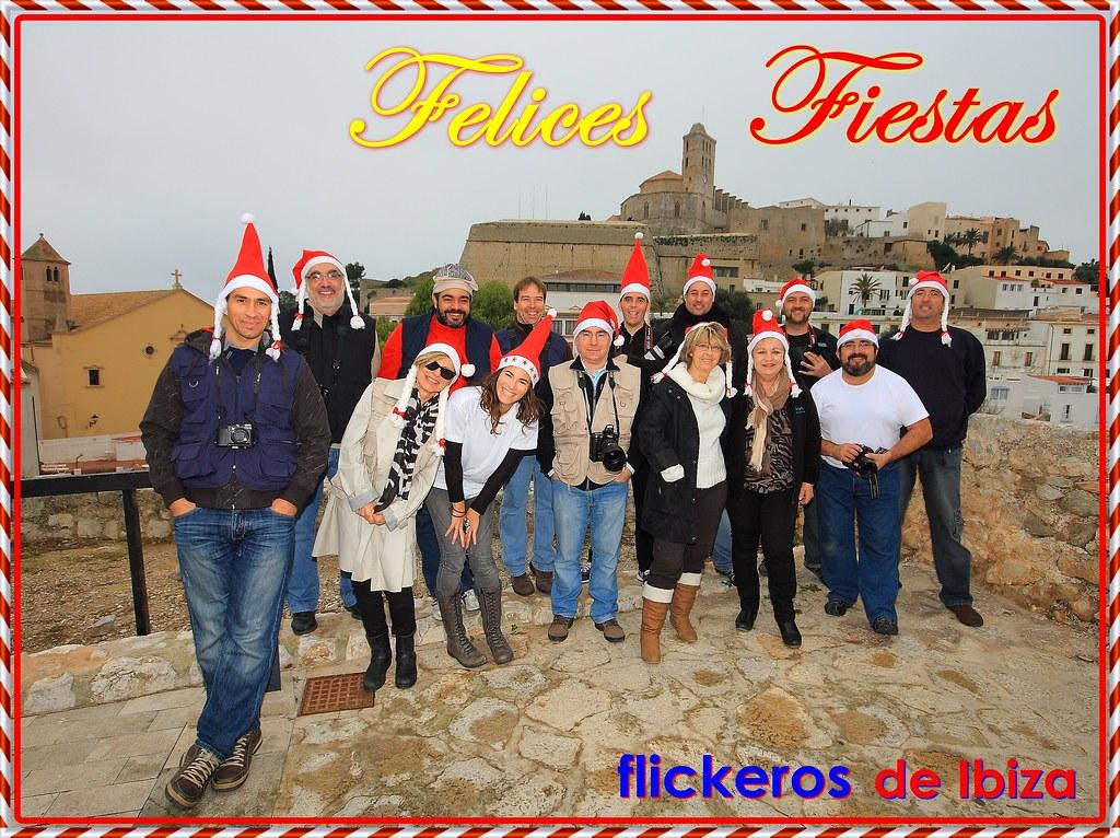 Flickeros de Ibiza os desea FELICES FIESTAS.