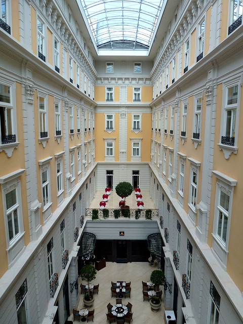 Budapest - jour 1 - 15 - Corinthia Hotel