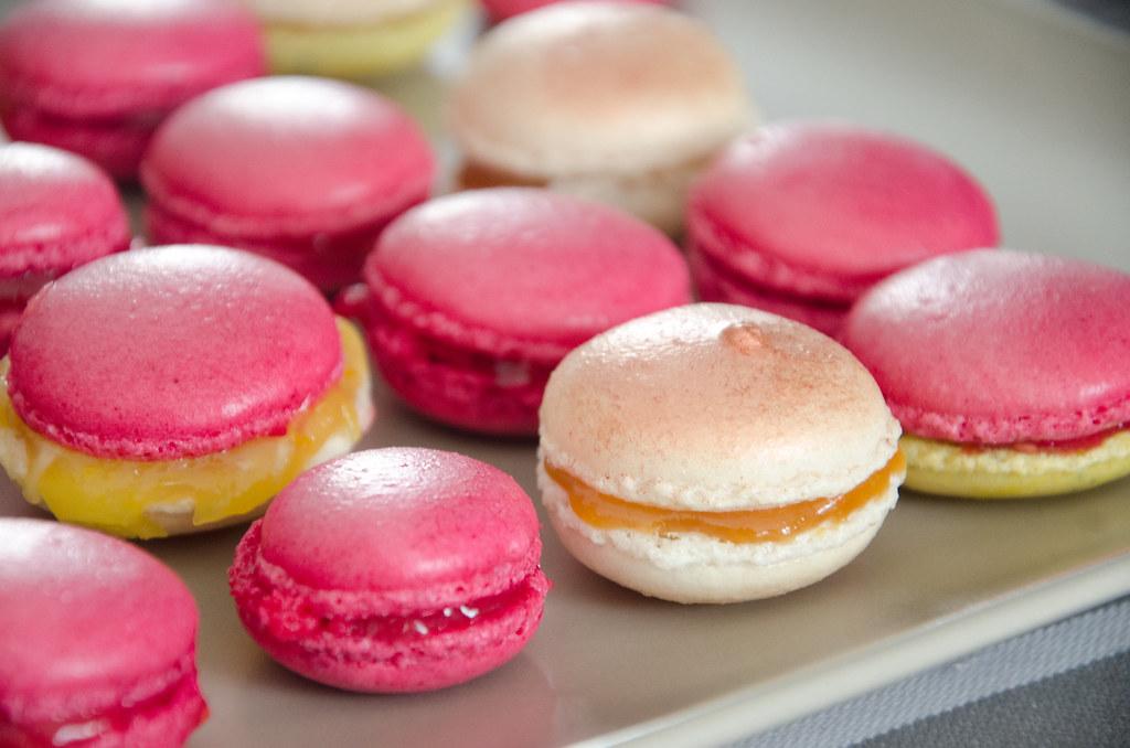 Making French Macaron