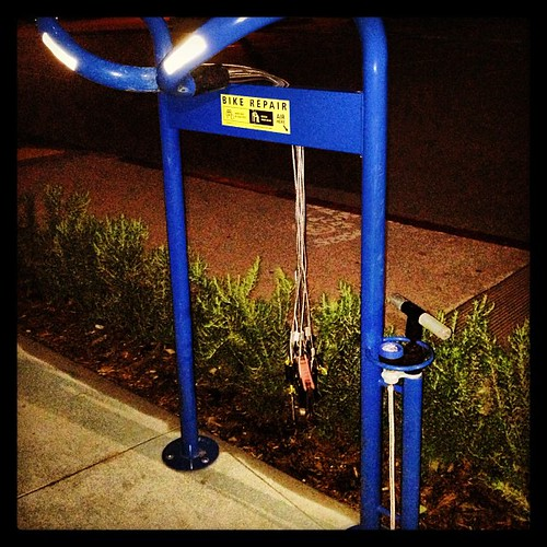 UCSB bike repair station