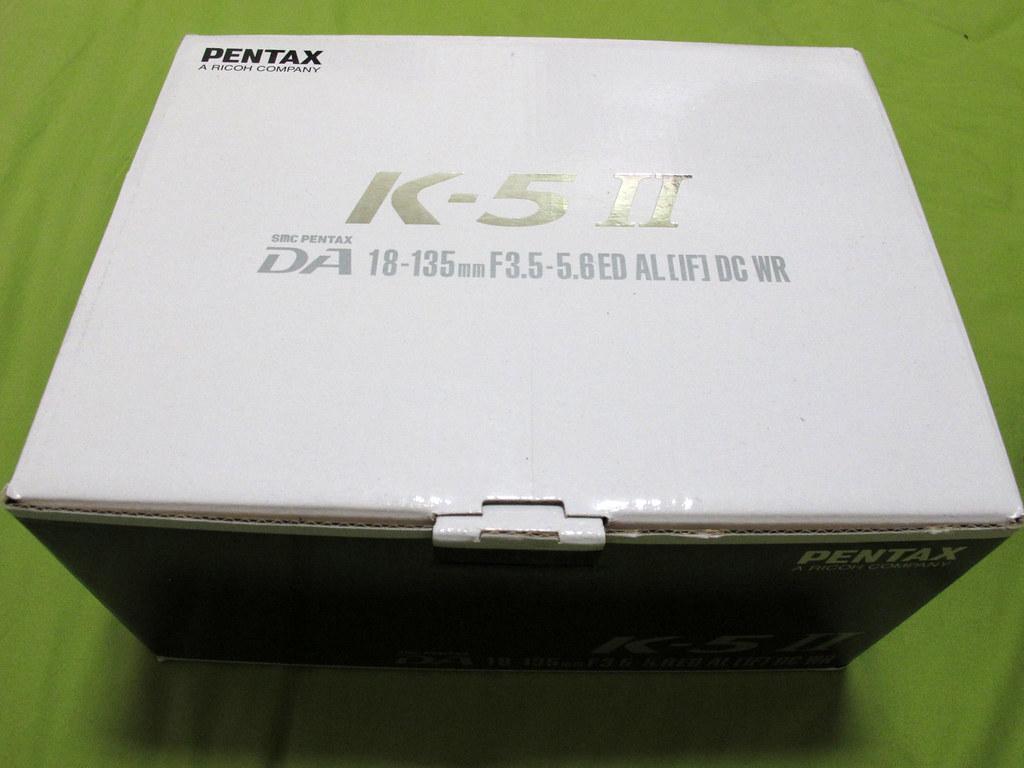 K-5II 沒有S開箱