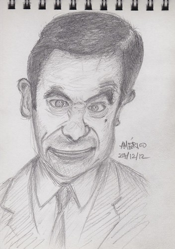 Mr Bean by americodasneves