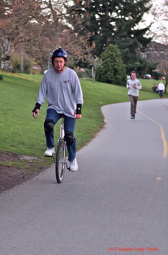 Unicycler by Seattle Daily Photo