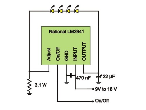 A Simple Linear Constant Current LED Driver Circuit: Some