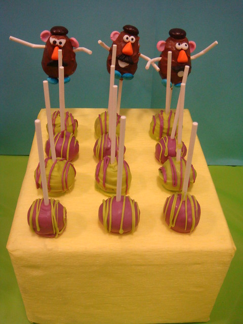 Toy Story Dessert Cake Pops