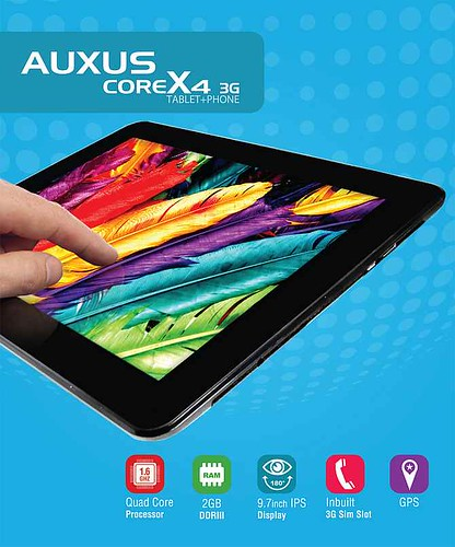 iBerry Auxus CoreX4 3G Tablet
